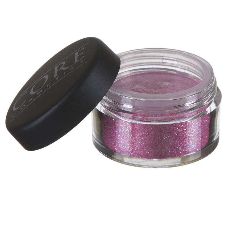 Mörk Rosa Glitter Dust