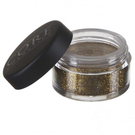 Mørk Guld Glitter-Dust