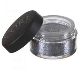 Krom-sølv Glitter Dust
