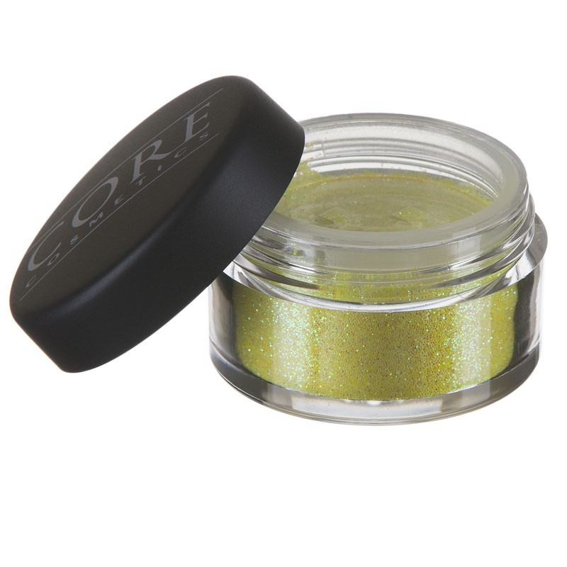 Bright-Yellow Glitter Dust
