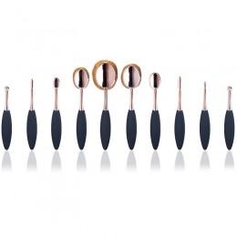 Ovale Brushes Rose Gold 10 Set Borstar