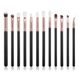 Rose Gold 12 Set Professionel Brushes
