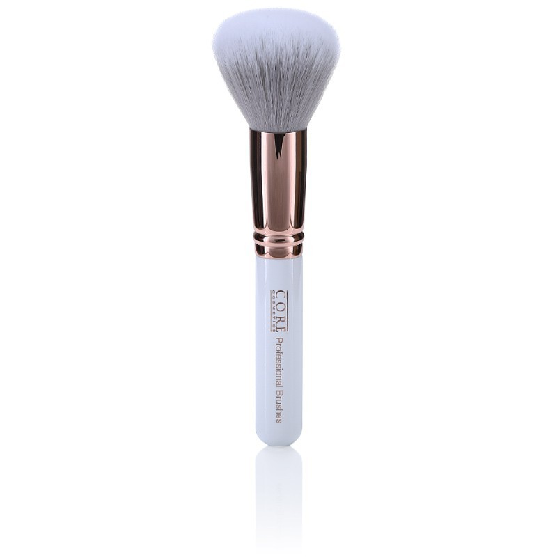 Large Powder Brush Rose Gold Copper
