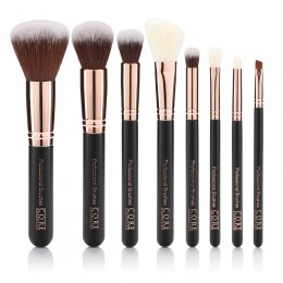 Rose Gold 8 Set Professionel Brushes Box