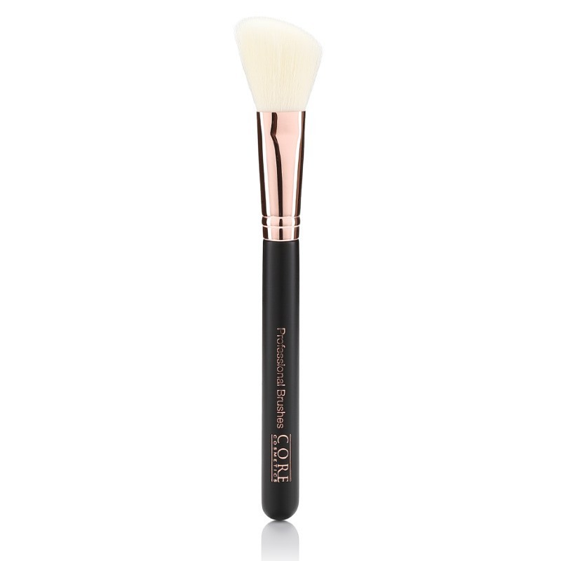 Cheek Lux Brush Rose Gold Black