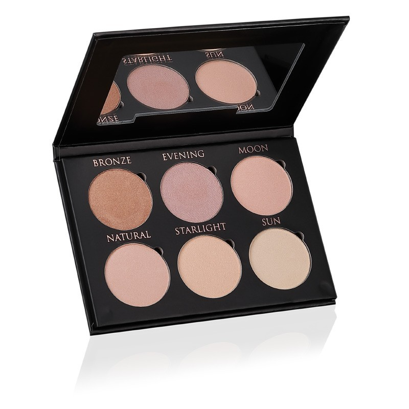 Glow & Strobe Kit Natural - Highly pigmented highlighter with natural ingredients