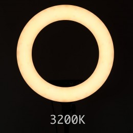 Ring Light for Sminke - Kosmetikk Studio 3200K