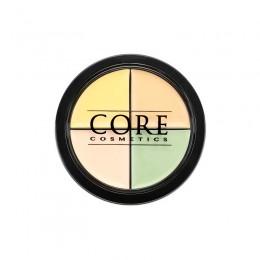 Color Corrector Quad Lekki - Vegan -   Tone CORE cosmetics