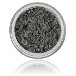 Fern is a green - gray shimmery mineral eyeshadow of 100% pure minerals, vegan and free from animal tests.