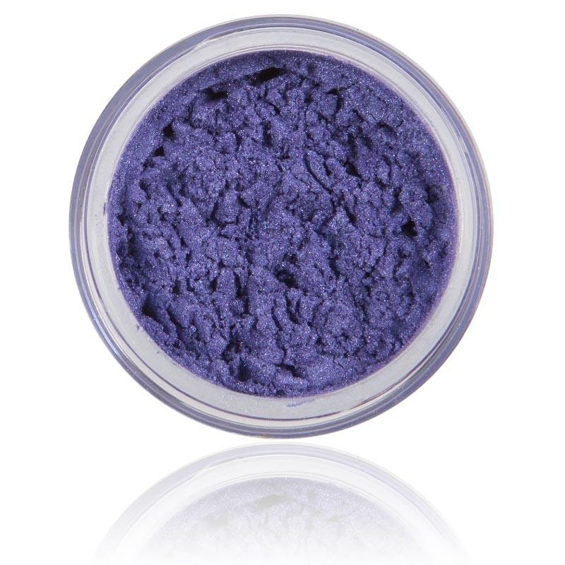 Mineral Ögonskugga Gemstone |100% rena mineral & Vegan. Mineral smink , starkt blå lila skimmrig kulör.