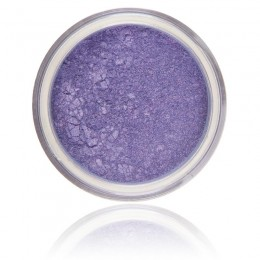 Mineral Eyeshadow Wisteria | 100% Pure Mineral & Vegan. Mineral make-up, bright purple shimmery color.