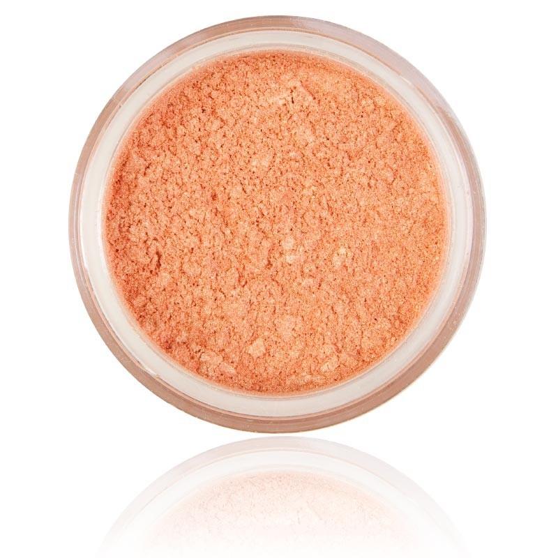 Mineral Ögonskugga Lovely Peach |100% rena mineral & Vegan. Mineral smink , stark persiko kulör.