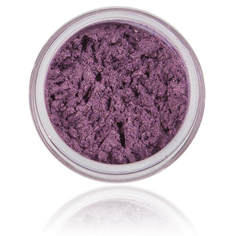 Ögonskugga av naturliga mineral ingredienser - skimrig lyster med kraftigt pigment.