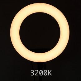 Ring Light för Makeup - Studio 3200K varmt ljus