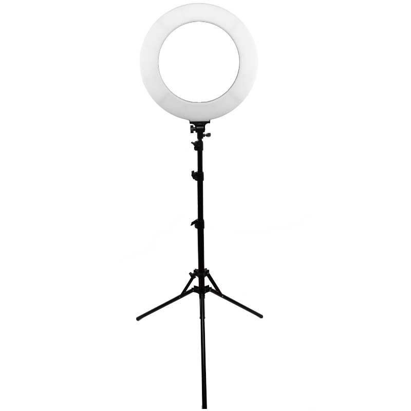 Ringlight för makeup, salonger, selfie, youtubers och studio för belysning. 60 watt