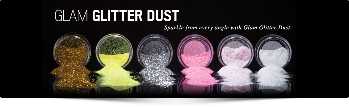 Glitter - Glamorous sparkle to your makeup at