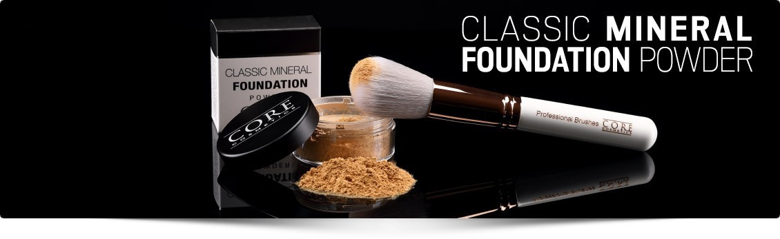 Mineral Foundation - Pure natural and gentle