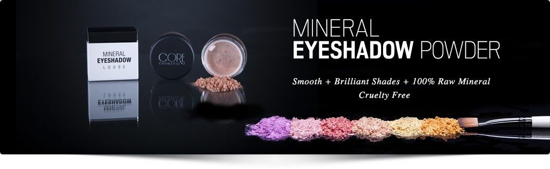 Mineral Eye Shadow - The strongest pigment - Buy online at