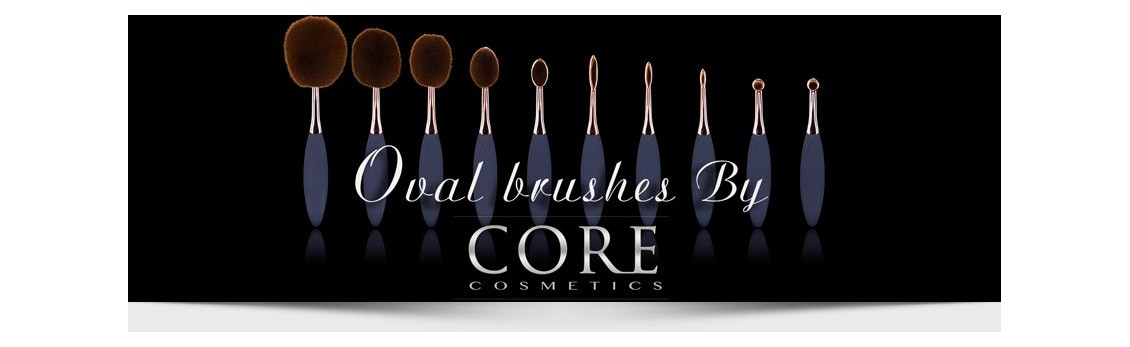 makeup brush set from core cosmetic